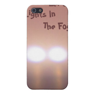 Eerie Lights In The Fog iPhone SE/5/5s Cover