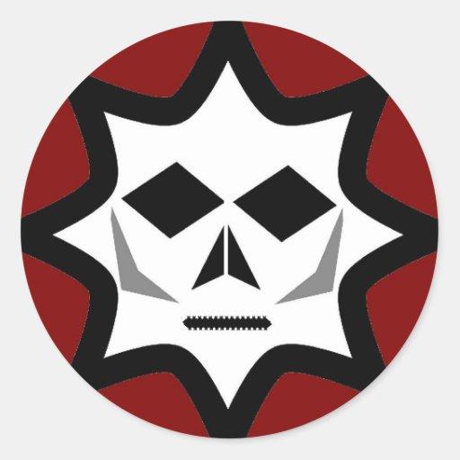 Eerie Logo Round Sticker