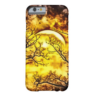 Eerie Moonlight Moon Airbrush Art Barely There iPhone 6 Case