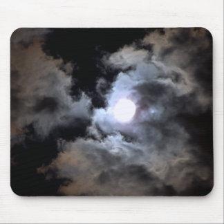 Eerie Moonlight Mousepad