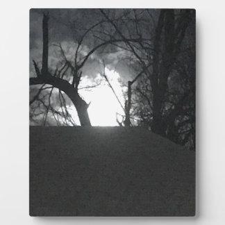 Eerie Morning Plaque