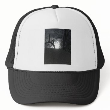 Halloween Themed Eerie Morning Trucker Hat