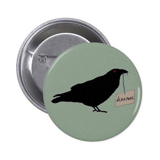 Eerie Raven Button