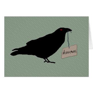 Eerie Raven Note Card
