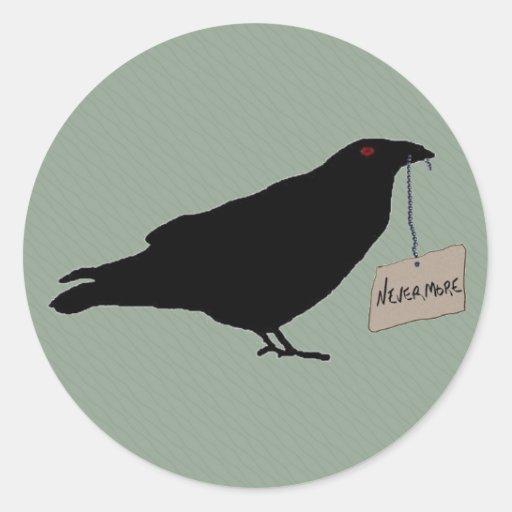 Eerie Raven Sticker Seal
