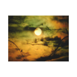 Eerie Sky Gallery Wrap Canvas