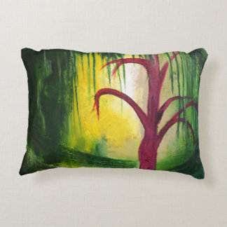 Eerie Swamp Decorative Pillow