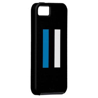 Eesti Lipp/bandera estonia iPhone 5 Carcasa