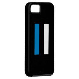 Eesti Lipp/Estonian Flag iPhone SE/5/5s Case