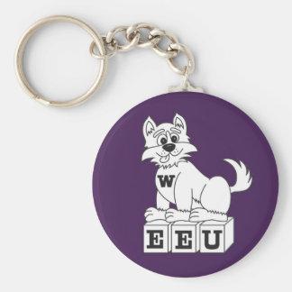 EEU Purple Keychain