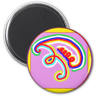 EEYAWA - Karuna Reiki by Navin Joshi 2 Inch Round Magnet