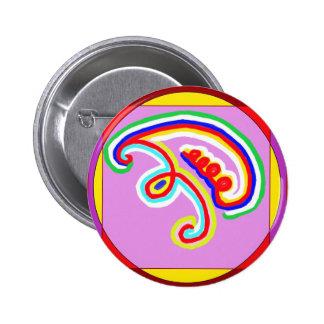 EEYAWA - Karuna Reiki de Navin Joshi Pin Redondo 5 Cm