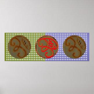 EEyawa  - Vintage Reiki Karuna Art Poster