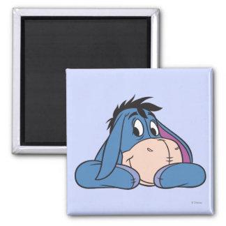 Eeyore 3 2 inch square magnet