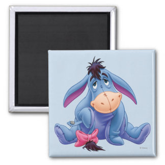 Eeyore 6 2 inch square magnet