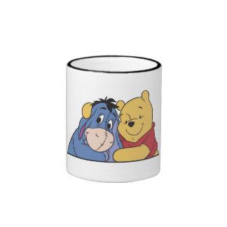 Eeyore and Winnie the Pooh Ringer Mug