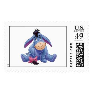Eeyore de Winnie the Pooh que sostiene la cola Sellos