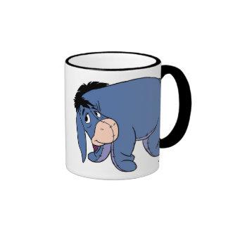 Eeyore is sad ringer coffee mug
