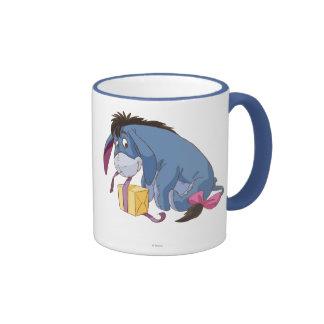 Eeyore que envuelve el regalo tazas de café