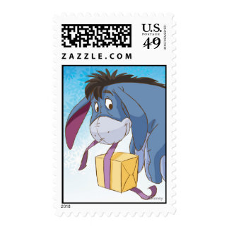 Eeyore Wrapping Gift Postage Stamps