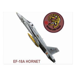 EF-18A-HORNET ALA 15 POSTCARD