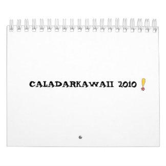 ef, CALADARKAWAII 2010 Calendar