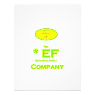 EF - Environmental Friendly Company 2 Flyer