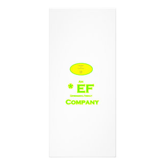 EF - Environmental Friendly Company 2 Rack Cards
