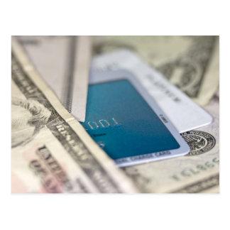 Efectivo del crédito postales