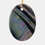 efecto 8, púrpura ornamento para arbol de navidad