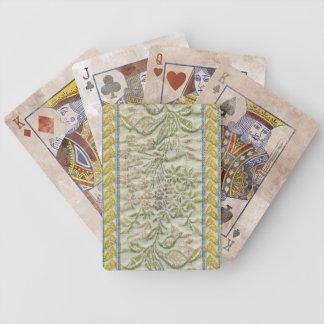 Efecto bordado floral de la tela de la tapicería barajas