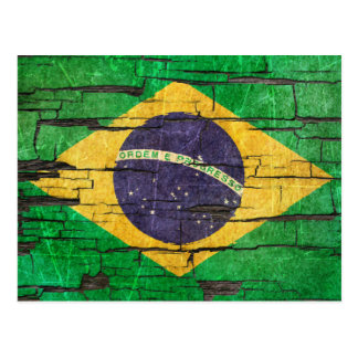 Efecto brasileño agrietado de la pintura de la pel