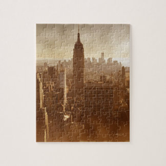 Efecto dañado Nueva York de la foto Puzzle