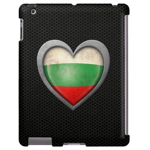 Efecto de acero de la malla de la bandera búlgara