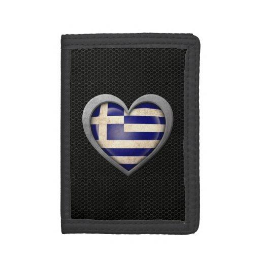 Efecto de acero de la malla de la bandera griega d