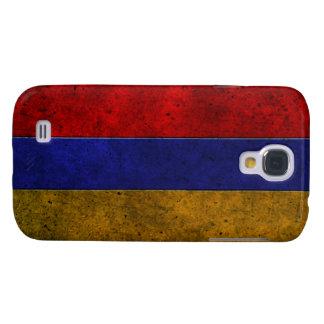 Efecto de acero envejecido bandera armenia