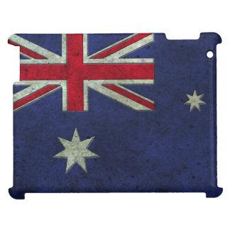 Efecto de acero envejecido bandera australiana