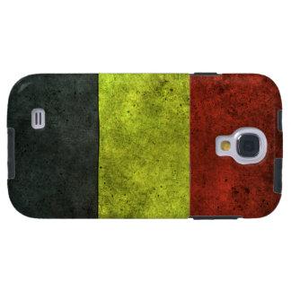 Efecto de acero envejecido bandera belga