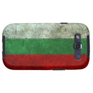 Efecto de acero envejecido bandera búlgara galaxy s3 cárcasas