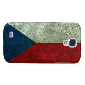 Efecto de acero envejecido bandera checa