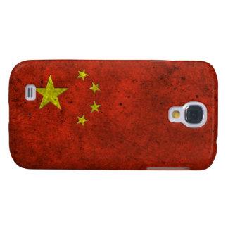 Efecto de acero envejecido bandera china
