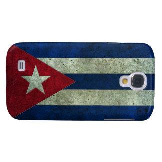 Efecto de acero envejecido bandera cubana