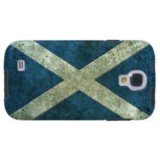 Efecto de acero envejecido bandera escocesa