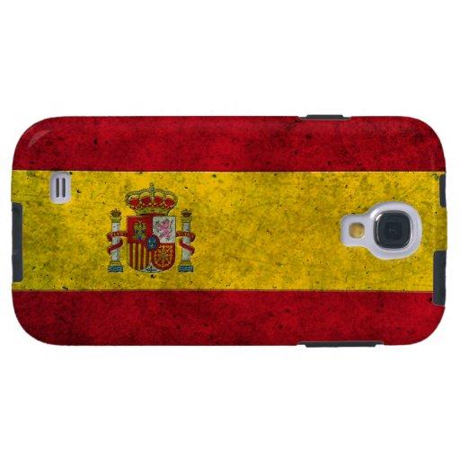 Efecto de acero envejecido bandera española