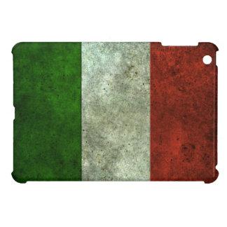 Efecto de acero envejecido bandera italiana