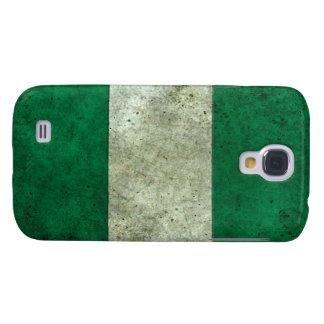 Efecto de acero envejecido bandera nigeriana