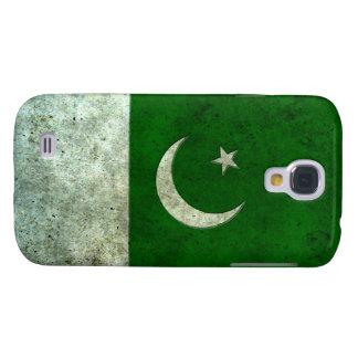 Efecto de acero envejecido bandera paquistaní