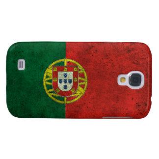 Efecto de acero envejecido bandera portuguesa