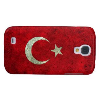 Efecto de acero envejecido bandera turca