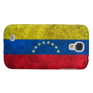 Efecto de acero envejecido bandera venezolana